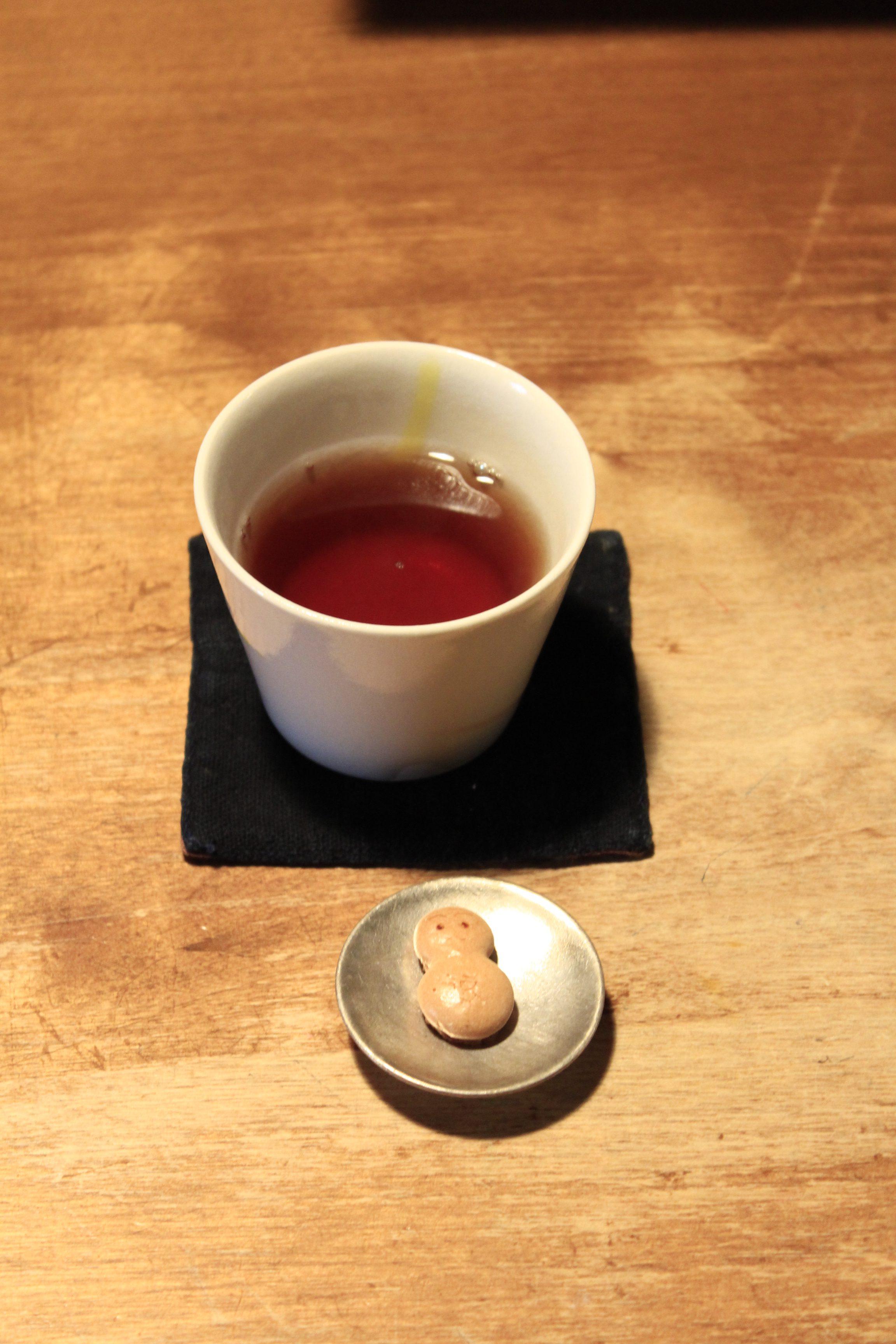 こよい堂さんでお茶