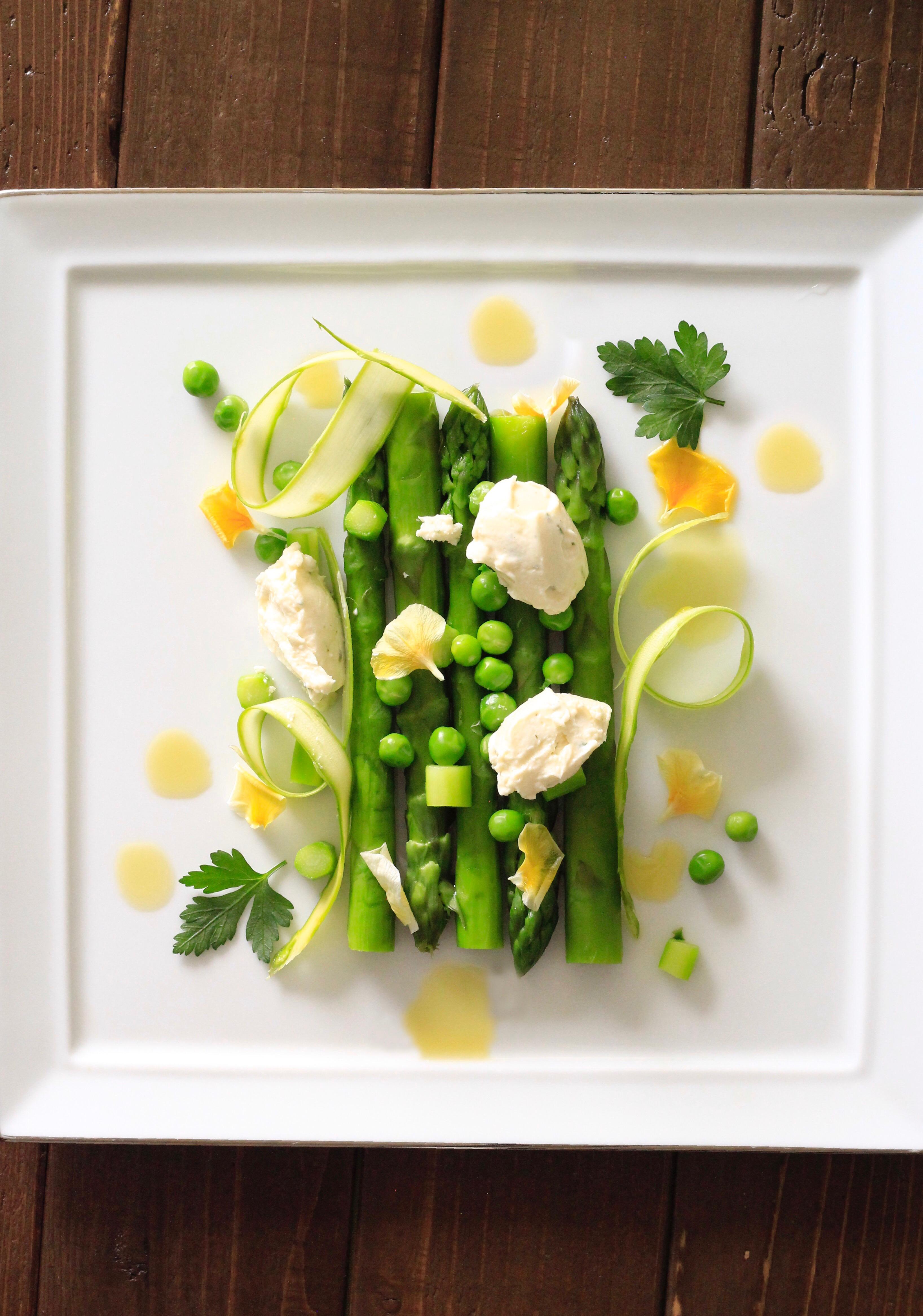 アート野菜をもりつけ写真①