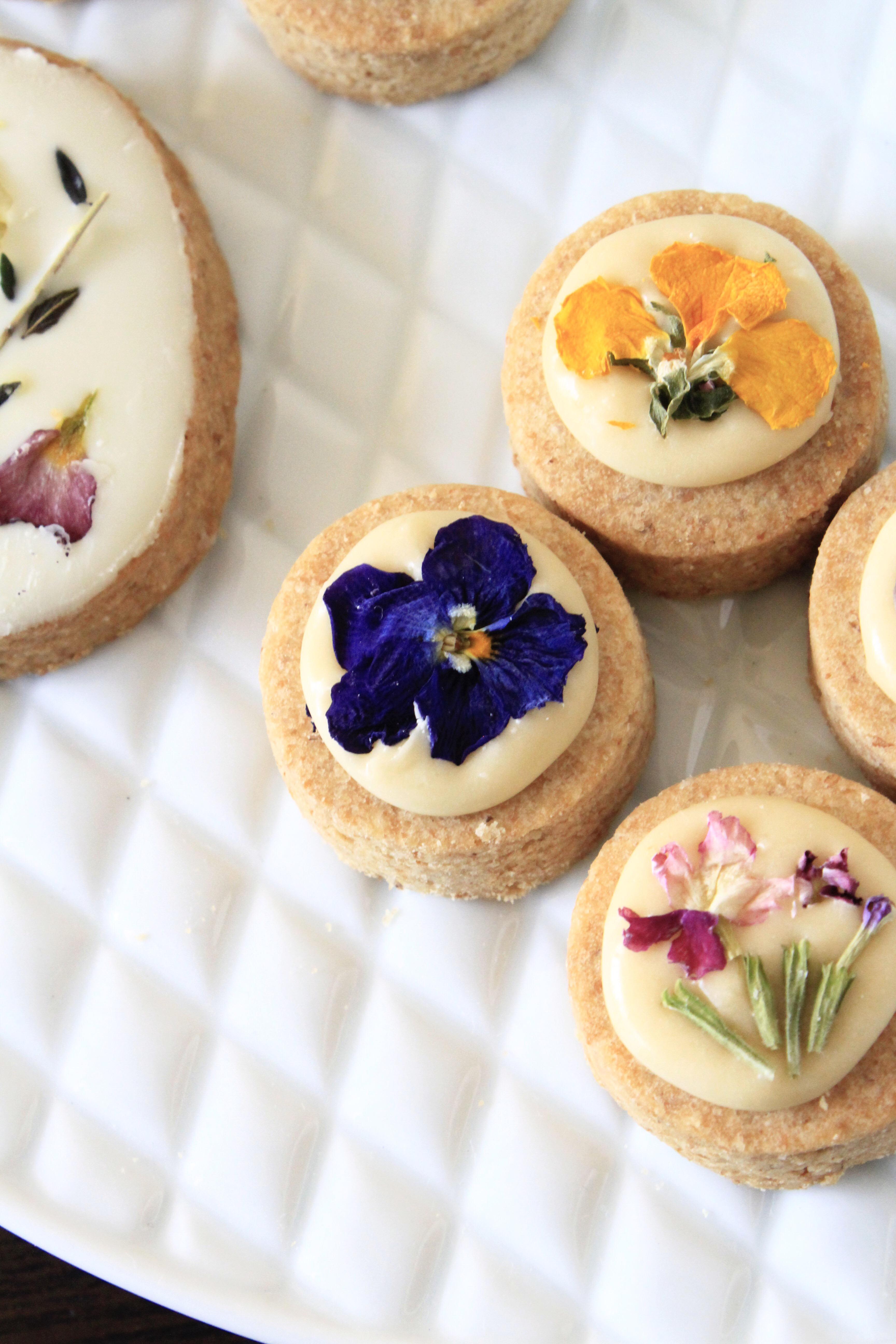 お花と甜菜糖のアイシングクッキーで母の日写真②